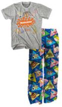 Men's Nickelodeon 2-Piece Loungewear Set by Mad Engine