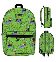 Nick '90s Reptar Fashion Backpack by Bioworld