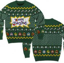 Nick '90s Men's Christmas Sweater by Mad Engine