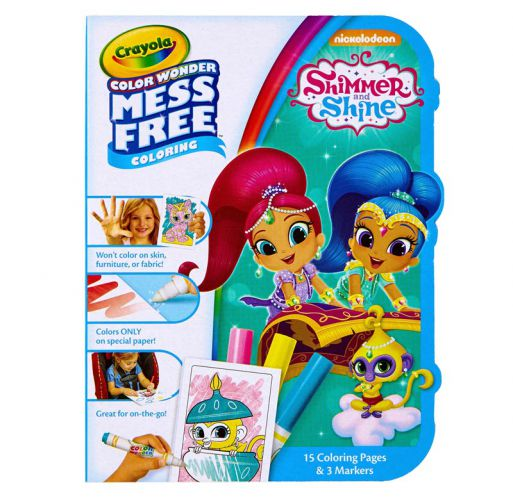 Shimmer and Shine Color Wonder Coloring Kit by Crayola