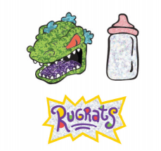 Rugrats 3-Pack Patches by Danielle Nicole
