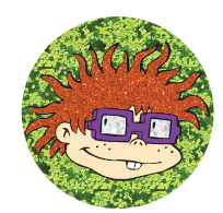 Rugrats Chuckie Patch by Danielle Nicole