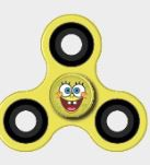 SpongeBob Fidget Spinner by Forever Collectibles