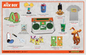 Nick '90s Subscription Box by CultureFly
