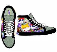 Nick '90s Rugrats Hi Top Junior's Sneaker by GroundUp