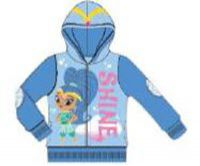 Shimmer and Shine Toddler Girls Blue Zip-up Hoodie by Freeze