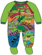 Teenage Mutant Ninja Turtles Toddler Boys Footed Blanket Sleeper by GBG