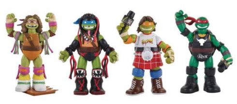 Teenage Mutant Ninja Turtles WWE Superstars by Playmates