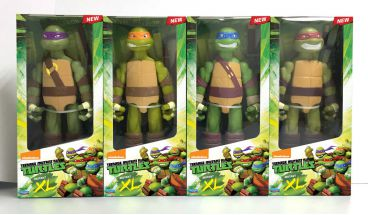 Teenage Mutant Ninja Turtles Extra Large Figures by Playmates