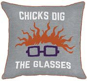 Nick '90s Chuckie Decorative Throw Pillow by Jay Franco