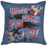 Nick '90s Ren & Stimpy Decorative Throw Pillow by Jay Franco