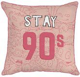 Nick '90s Stay 90 Decorative Throw Pillow by Jay Franco